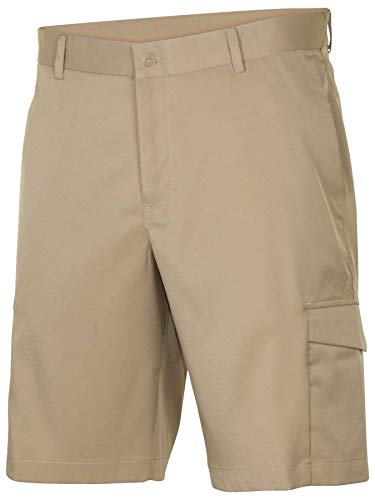 7e832cba7337 Nike Mens Flat Front Stretch Golf Shorts Khaki
