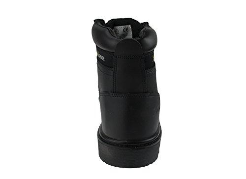 Seguridad Hombres Xplorer Leather para Workers Botas Boots Waterproof w Toe Road Resistant Mens Bikers Midsole Puncture Xplorer Cap Waterproof Safety Composite de For Construction qrBRq
