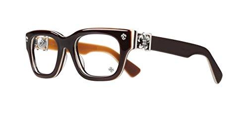 Chrome Hearts - Bangadang I - Eyeglasses (Brown Bone Brown, - Eyeglasses 18k Gold Frames