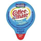 (3 Pack Value Bundle) NES35070 Liquid Coffee Creamer, Mini Cups, French Vanilla