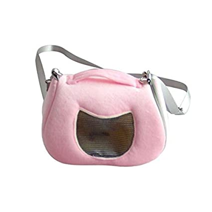 23ebfec3a2 XuBa Pet Carrier Travel Bag Small Animal Breathable Detachable Strap Single  Shoulder Bags Handbag Pet Supply P  Amazon.in  Home   Kitchen