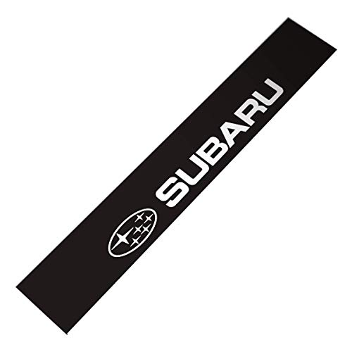 Demupai Front Windshield Banner Decal Vinyl Car Stickers for Subaru Impreza WRC (WRC Black - Subaru Decal