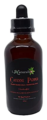 iNaturals Cayenne Pepper Soothing Oil for Dry/Flaking Itchy Scalp