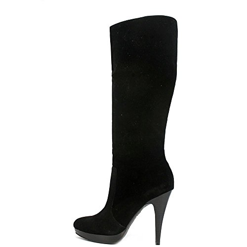 INC International Concepts Galla Womens Size 9.5 Black Fashion Knee-High Boots 1K3mO
