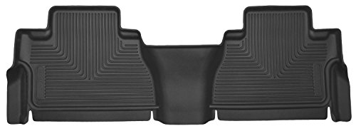 Husky Liners 53821 Black Second Seat Floor Liner (14 Toyota Tundra) (Ghost Rider Vinyl Adult)
