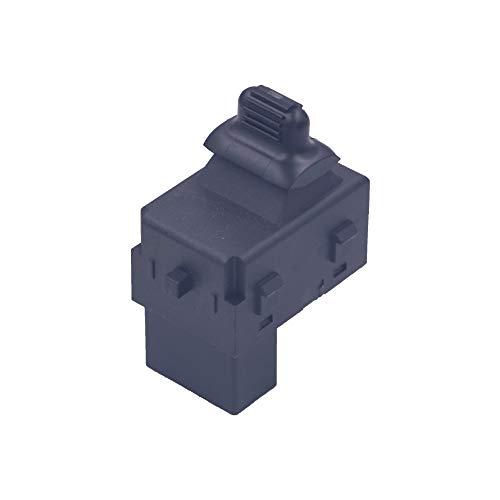 LEOZO Replaces# 901-437 Power Window Switch Black Single Button fit 2001-2010 Chrysler Dodge ()