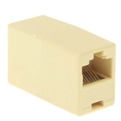 Lekai Multifunctional Meet Different Needs RJ45 Network Changer LAN Extension Adapter Connector,Can be Used to Connect 2 LAN Cables to Become an Extension