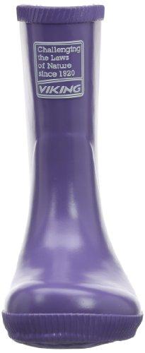 Viking Classic Indie Unisex Kinder Langschaft Gummistiefel Violett (Lilac 6)