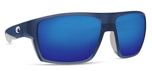 Costa Del Mar Bloke Sunglasses Bahama Blue Fade 580P Blue Mirror Plastic - Bloke Costa Sunglasses