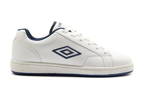Umbro , Herren Tennisschuhe weiß White/navy 40