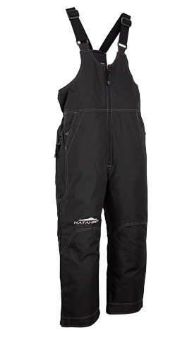 Katahdin Back Country Mens Snow Bibs Black/Tall (Katahdin Bibs)