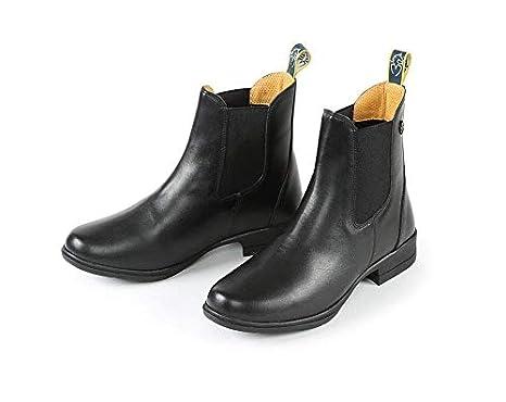 Shires Moretta Adults Rosetta Zip Paddock Boots Black