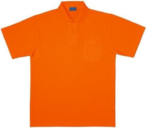 [シンメン]SHINMEN【吸汗速乾半袖ポロシャツ】(クールナイス・ポケット付)《006-225》