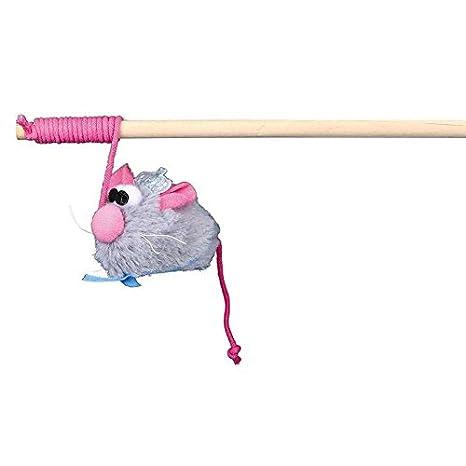 Juguete para gatos Varita de Juego con Novia Raton Cat Princess 30 cm Trixie .: Amazon.es: Productos para mascotas