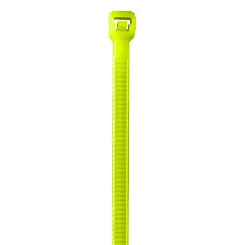 BOX USA BCT433J Colored Cable Ties 40# 5 1/2 Fluorescent Yellow (Pack of 1000) [並行輸入品]   B07DZS2WZV