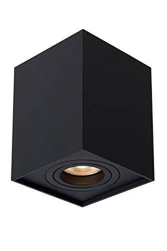 Lucide TUBE – Plafondspot – 1xGU10 – Zwart