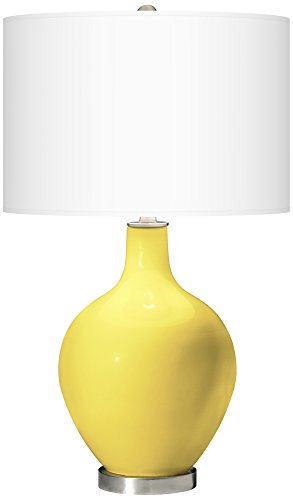 Lemons Accent Lamp - Lemon Twist Ovo Table Lamp