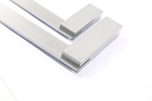 YaeTek Machinist Squares 90 Degree Right Angle Engineer's Set- 2'' 4'' 6'' DIN STANDARD 875, Machinist Square Set, 3-PIECE by YaeTek (Image #7)