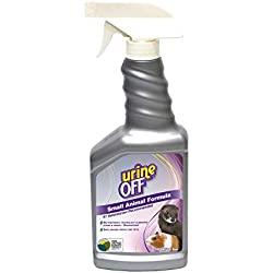 Urine Off Odor and Stain Remover for Small-Animals Sprayer 16.9 Ounces