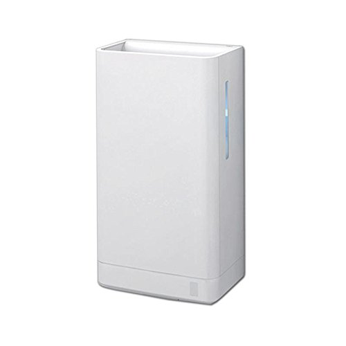 Toto HDR120#WH Clean Dry Sensor Activated Hand Dryer, White by TOTO
