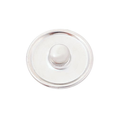 Andante bouton pression CHUNK fluorescent (Néon orange) pour bracelets Chunk, bagues Chunk et autres accessoires Chunk
