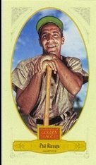 - 2012 Panini Golden Age Mini Broadleaf Brown Ink #60 Phil Rizzuto