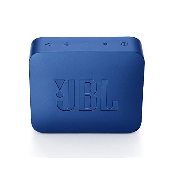 JBL Go 2 - Mini enceinte Bluetooth Portable - Étanche pour Piscine & Plage Ipx7 - Autonomie 5hrs - Qualité Audio JBL - Bleu 5