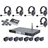 Clear-Com CZ11432 DX200 System w/ HS15 Headsets