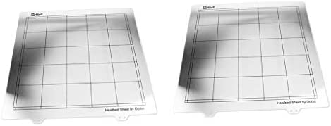 perfk 2 Piezas MK52 Build Plate Bed Platform 300x300 Mm para ...