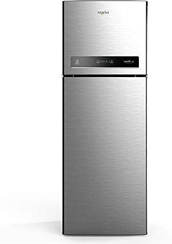 Renewed  Whirlpool 265 L 2 Star Inverter Frost Free Double Door Refrigerator  INTELLIFRESH CNV 278 2S German Steel, Convertible