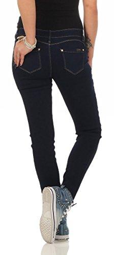 fonc Jeans Turquoise 38 Femme turquoise bleu Fashion4Young TPq0q