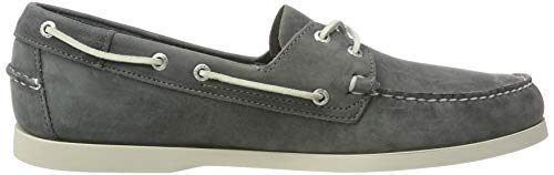 Sebago Waxy Docksides Gris smoke Homme Chaussures Leather Bateau HHTwrYA