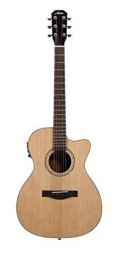 Austin Guitars AA45-FEC Folk Cutaway Acoustic, Electric Guitar