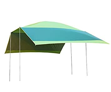 Xmaker Carpa Sky, Caseta De Camping Al Aire Libre, Mucha Gente Ultra Luz Contra La Playa Ultravioleta, Protección Solar Toldo Sombrilla., Verde: Amazon.es: ...