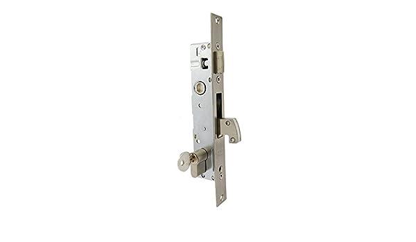 Cerradura de embutir SIB510 con gancho basculante ... (Paso de 25): Amazon.es: Bricolaje y herramientas