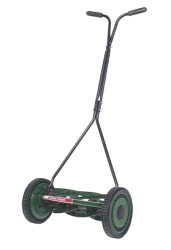 Great States 705-16 16-Inch Specialty Push Reel Lawn Mower For Low Growing Creeping Grasses With T-Style Handle