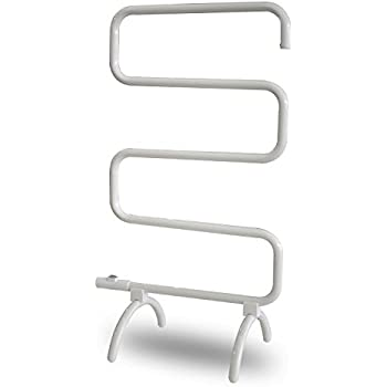 Homeleader Towel Warmer and Drying Rack, Heated Towel Rack, Wall Mount and Free Standing, 100W
