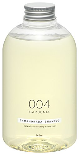 - TAMANOHADA Shampoo Naturally Refreshing and Fragrant, No. 004 Gardenia, 18.25 Fluid Ounce