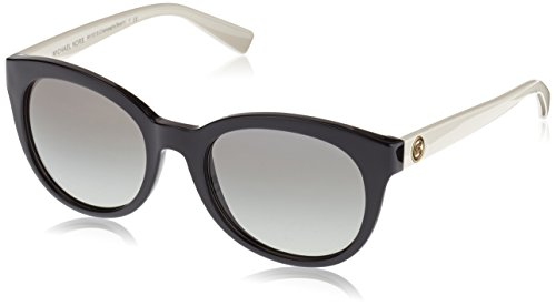Michael Kors MK6019 305211 Black / Cream Champagne Beach Butterfly Sunglasses - Womens Kors Eyeglasses Michael