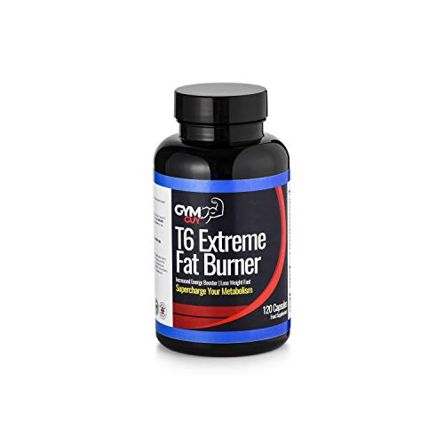 T6 Extreme Fat Burner – Weight Loss Diet Pills – Appetite Suppressant & Fat Burner for Women and Men 2 Month Supply by…