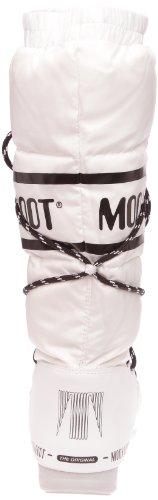 001 Boot Stivali Moon W Bianco blanc Duvet Boot e Donna bianco 4wBqvw