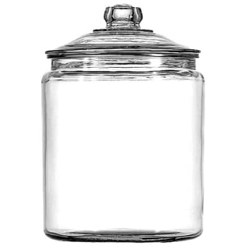 Anchor Hocking Heritage Hill Glass 0.5 Gallon Storage Jar, Set of 1