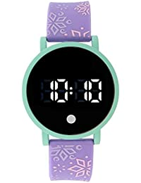 Purple Rubber LED Digital Kids Watch