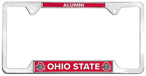 All Metal NCAA Alumni License Plate Frame (Ohio State)