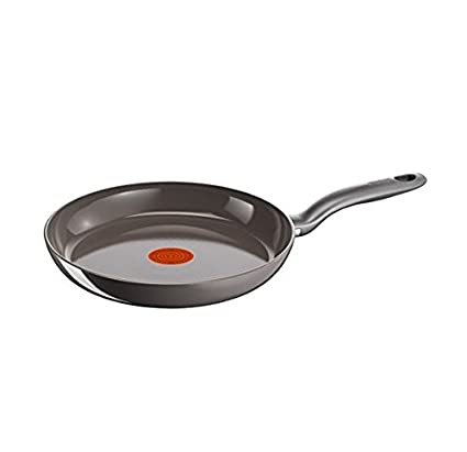 Tefal Ceram Induction - Sartén, Gris, 24 cm