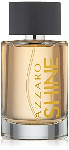 Azzaro Splashes Eau de Toilette, Shine, 3.4 Oz.