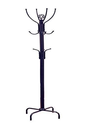 Frenchi Home Furnishing Metal Coat Rack Black