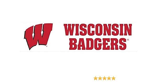 3 x 12 NCAA University of Wisconsin WCR13214421 Bumper Strip