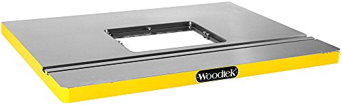 Woodtek 165548, Portable Power Tool Accessories, Routers & Trimmers, Large Cast Iron Router Table 32