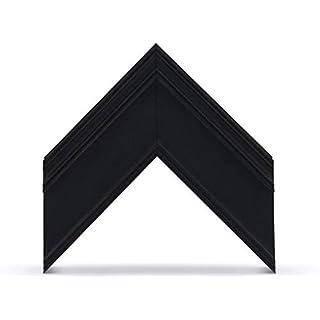 "Deco TV Frames - Antique Black Frame Custom for Samsung The Frame TV (6"" Corner Sample)"